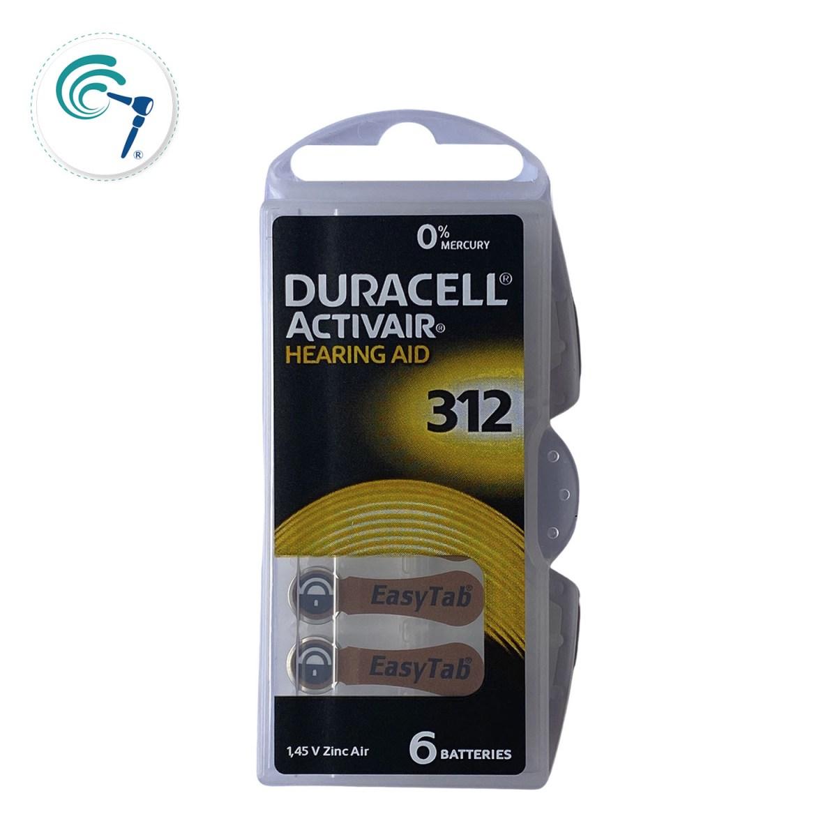 Pilas para audífonos Duracell