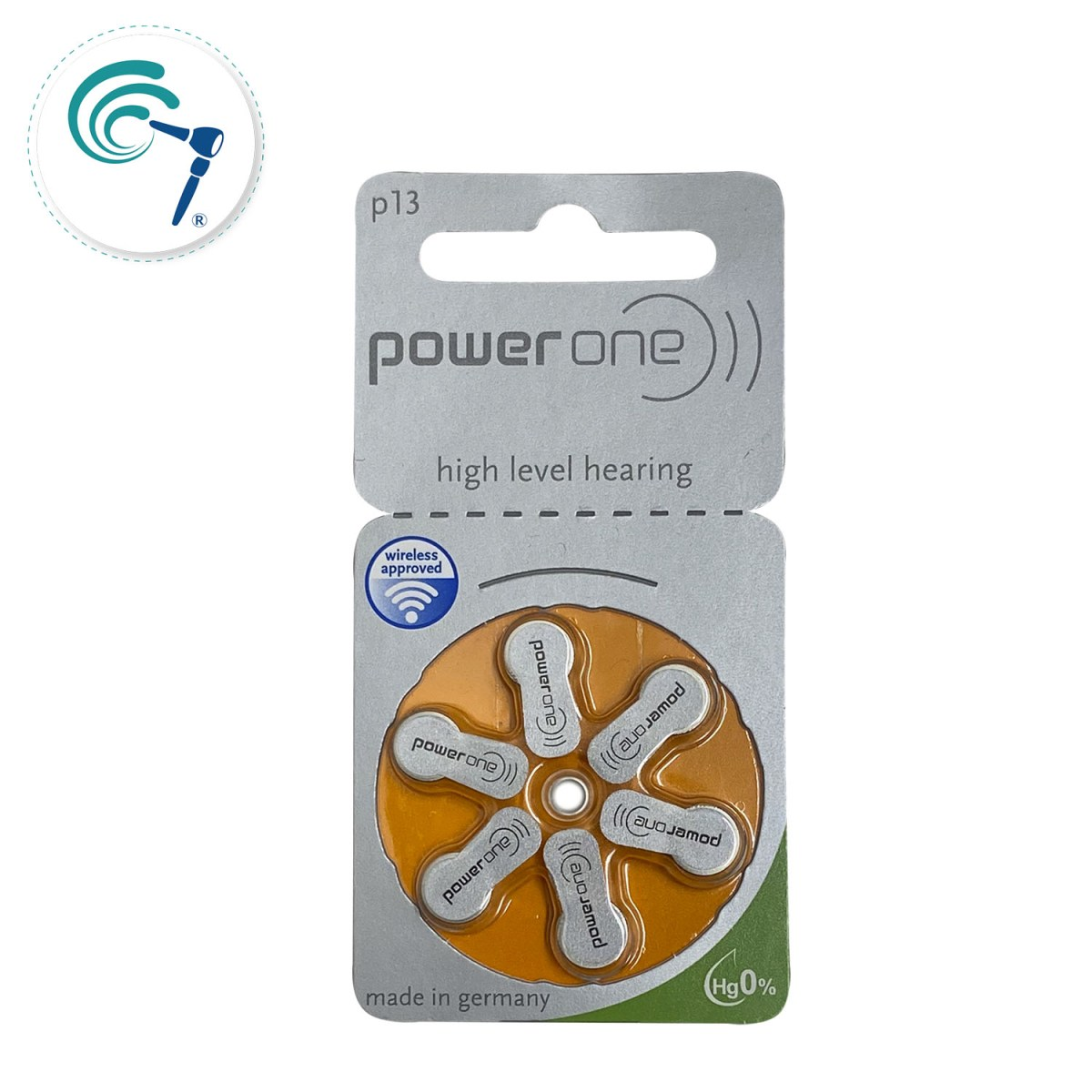 Pilas para implante coclear PowerOne