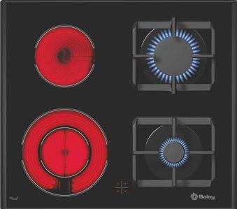 Placa de cocina Balay Mixta Gas NaturalVitro  Sin