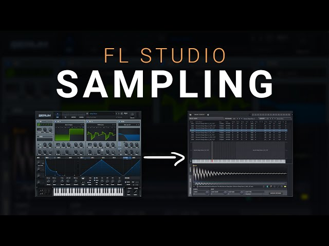 The Best Way To Sample Virtual Instruments in FL Studio 20