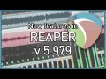 What's New in REAPER v5.979 Update – global hotkeys, more wildcards, render items through master