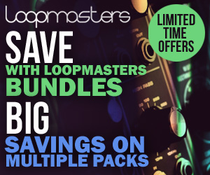 Loopmaster Bundles banner