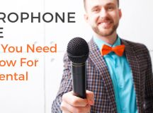 Microphone Hire | What You Need To Know For Mic Rental