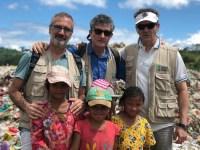 Los hermanos Fesser ruedan en Filipinas un corto para visibilizar el hambre crónica en el mundo