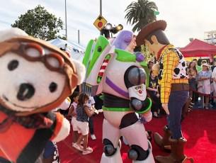 Raimundo Hollywood se lo pasa cañón en la premiere de 'Toy Story 4'