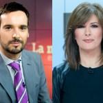 Lluís Guilera y Lara Siscar, nuevos presentadores de 'Telediario Fin de Semana' de La 1