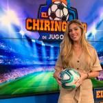 Andrea Borreguero, nueva reportera de 'El Chiringuito de Jugones' en Barcelona