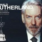 El actor canadiense Donald Sutherland será distinguido con el tercer Premio Donostia de 2019