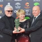 Almodóvar hace historia con 'Dolor y gloria', su cuarto Goya a la mejor película