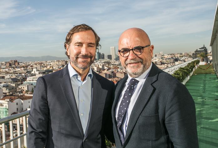 James Costos y Carlos Rosado