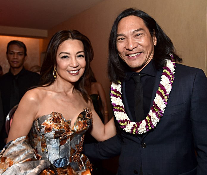 Foto Ming-Na Wen y Jason Scott Lee.
