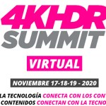 La 4K-HDR Summit se celebrará online en 2020