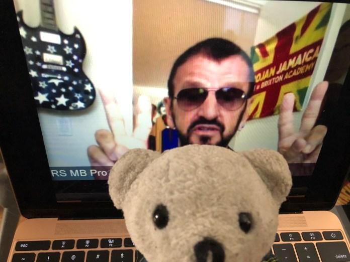 Ringo Starr y Ovedito