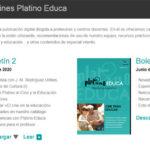 El segundo número del boletín Platino Educa incluye la primera parte de la entrevista a José Manuel Rodriguez Uribes