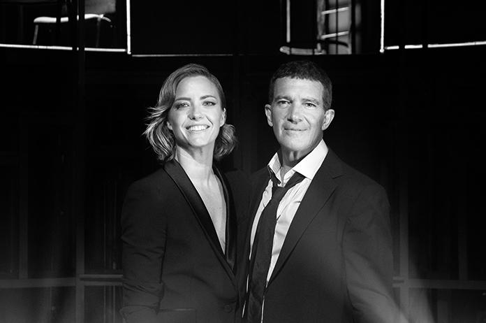 Maria Casado y Antonio Banderas