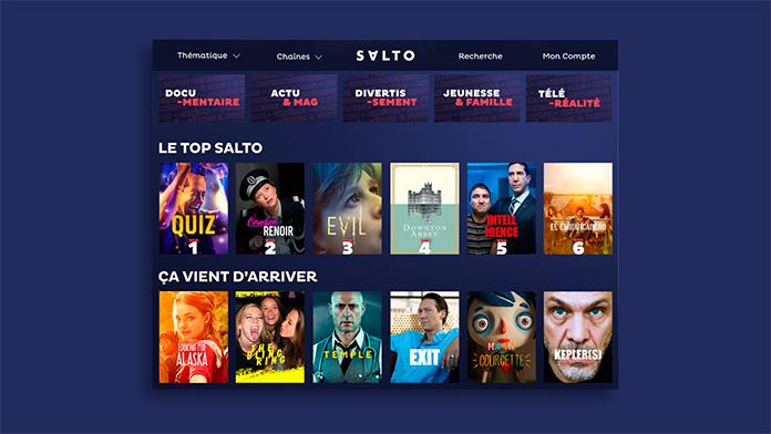 Nuevo servicio de transmisión Salto para programación francesa