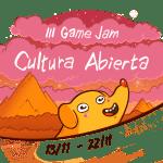 La tercera edición de la Game Jam Cultura Abierta se celebrará online a partir del 13 de noviembre