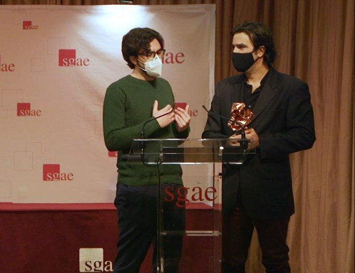 Ganadores del XVII Premio SGAE de Guion Julio Alejandro