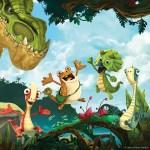 Clan adquiere la serie de animación 'Gigantosaurus', de Cyber Media Group