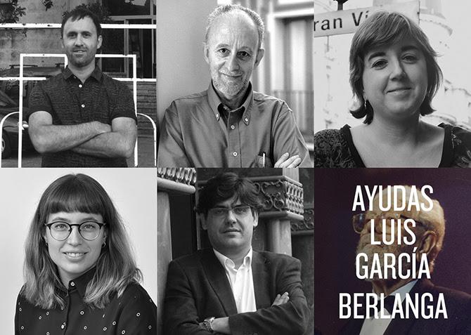 Seleccionados Ayudas a la InvestigaciónLuis García Berlanga
