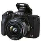 Canon lanza la EOS M50 Mark II, pensada para grabar contenidos sociales