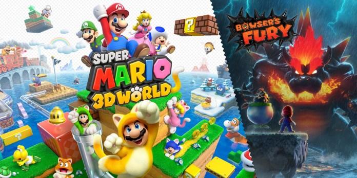 'Super Mario 3d World' + 'Bowser's Fury'