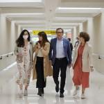Ángeles González-Sinde finaliza en el norte de España el rodaje de 'El comensal'
