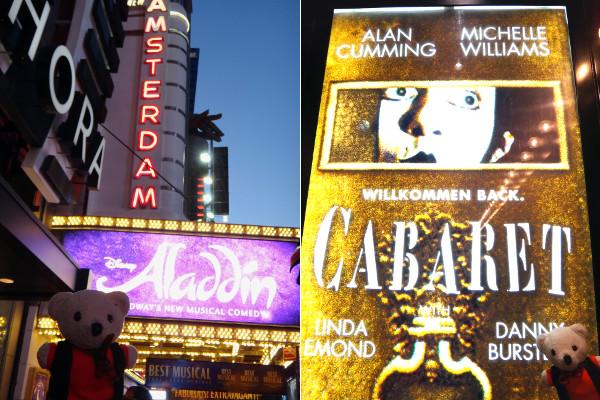 Broadway Aladdin Cabaret Michelle Williams