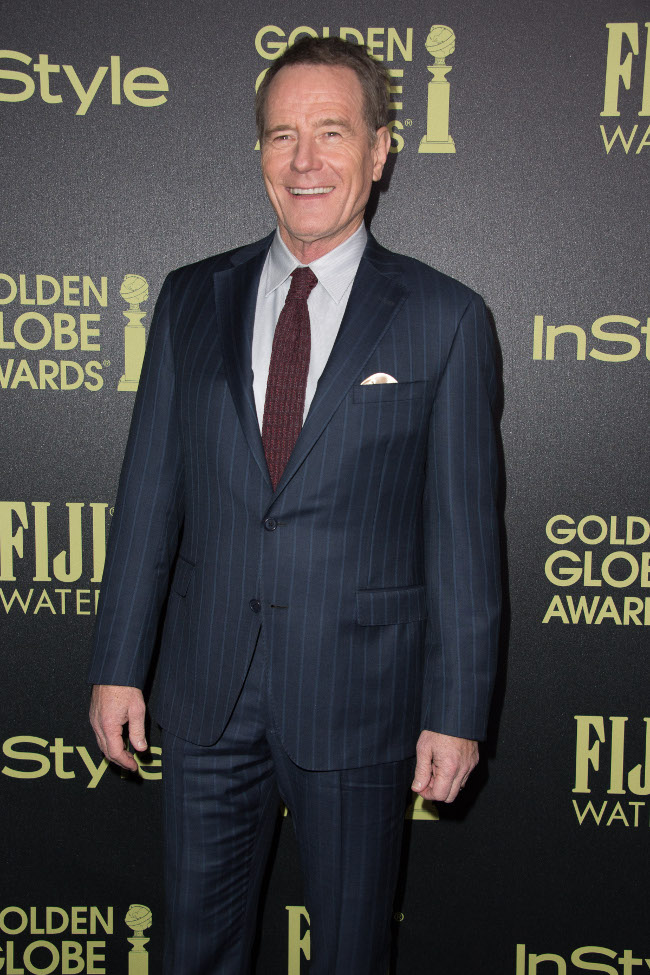 Bryan Cranston attends a party for the announcement of Corinne Foxx as Miss Golden Globe 2016 for the 73rd Annual Golden Globe Awards set to air live on NBC on January 10, 2016. President Lorenzo Soria made the announcement on November 17, 2015 from Ysabel Restaurant in West Hollywood.