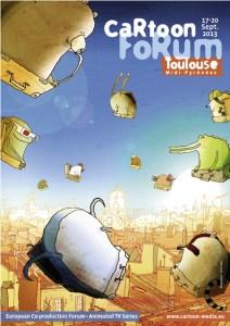 Cartoon Forum 2013 poster
