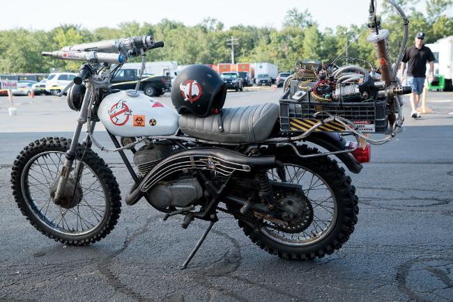 Cazafantasmas 2016 moto