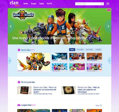 Clan nueva web