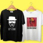 Series y películas míticas en forma de camiseta