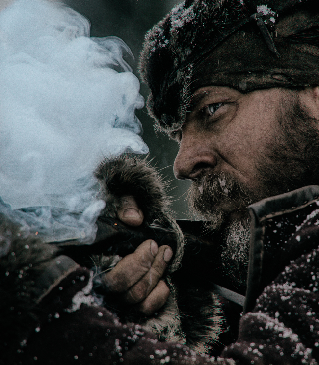 El Renacido (The Revenant) Tom Hardy