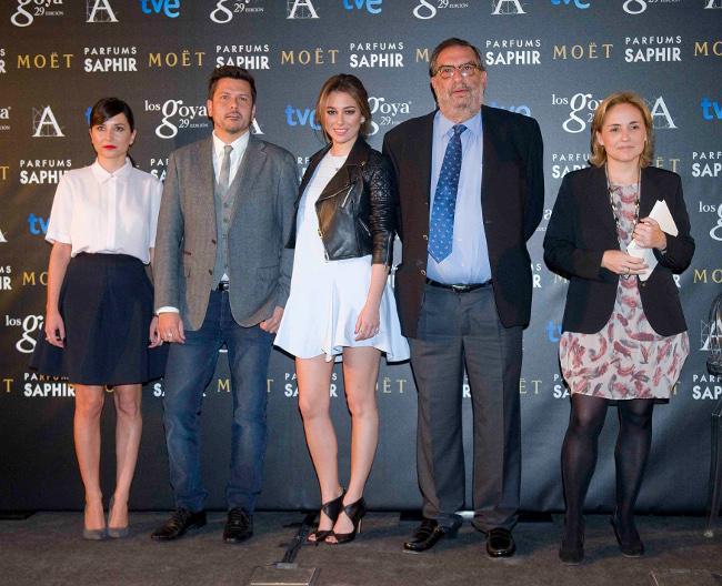 Goya 2015 nominados