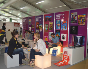 Stand de Animation from Spain en MIFA 2015.
