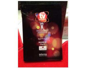 Magine Premio Mejor App TV 2014