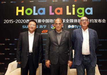Mediapro Liga BBVA China