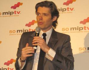 Michael Peters, CEO de Euronews, el canal de noticias internacionales más visto en Europa