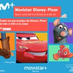 Movistar Disney·Pixar, nuevo canal temporal disponible en julio