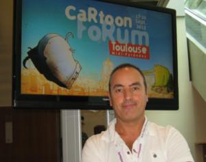 Oriol Sala Patau TVC Cartoon Forum 2013