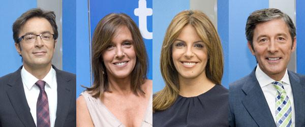 Presentadores Telediarios TVE