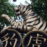 Raimundo Hollywood en el Parque del Rey del Bálsamo de Tigre