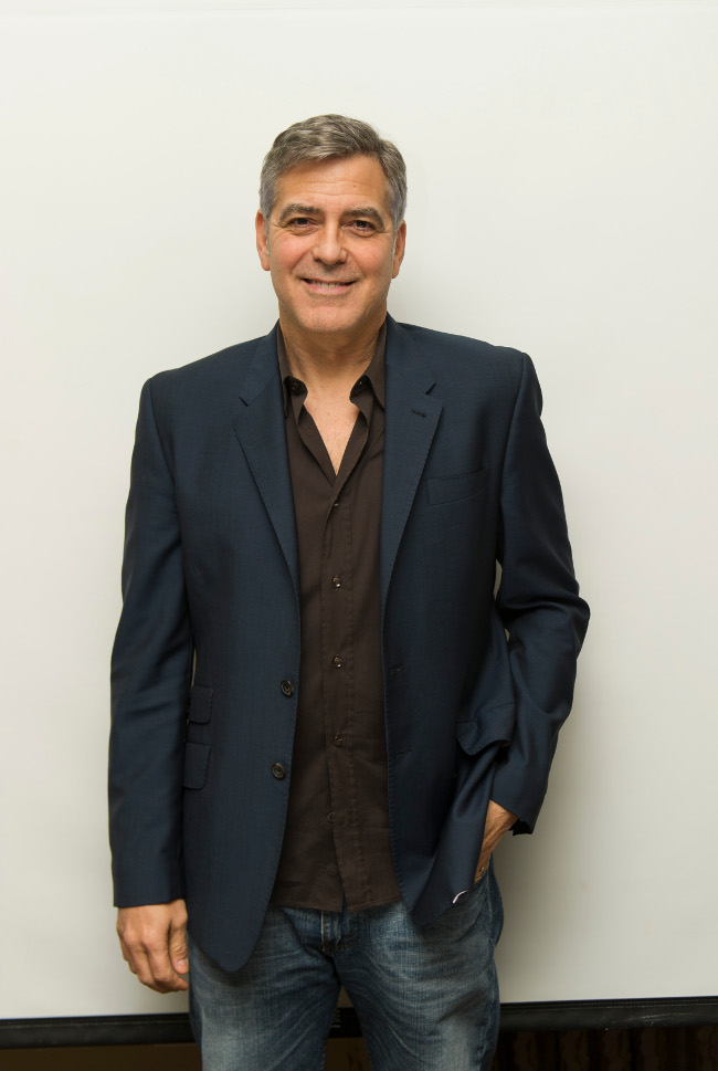 George Clooney. Photo: Magnus Sundholm for the HFPA