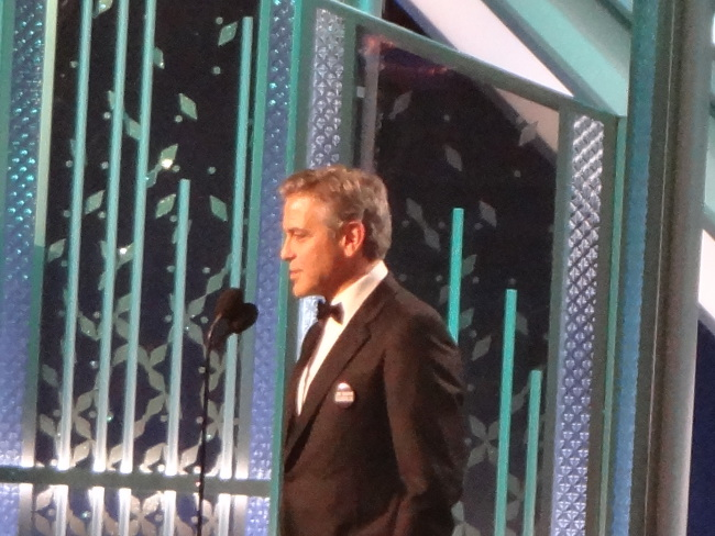 Raimundo Hollywood Globos de Oro George Clooney