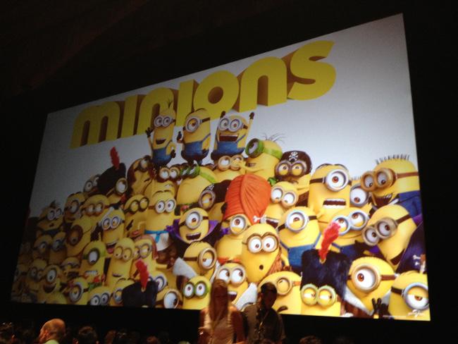 Raimundo Hollywood Minions LA Premiere Cine