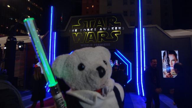 Raimundo Hollywood Star Wars 2015 5