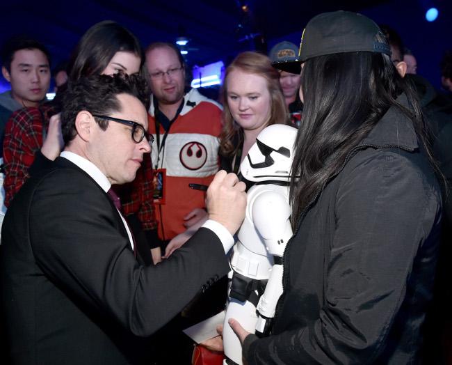 Raimundo Hollywood Star Wars 2015 JJ Abrams