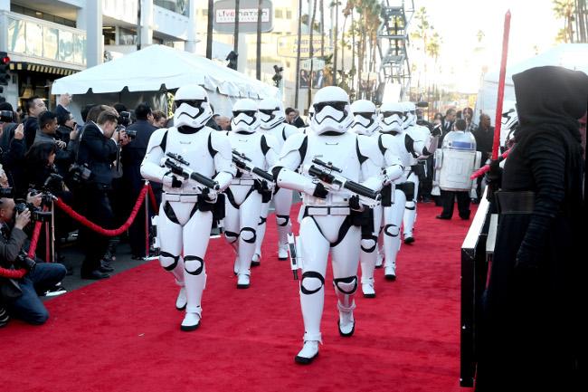 Raimundo Hollywood Star Wars 2015 troopers