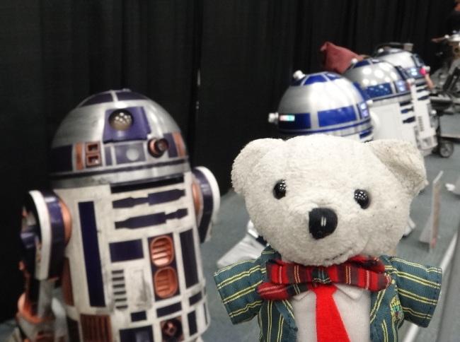 Raimundo Hollywood Star Wars Celebration 2015 R2D2 Ovedito